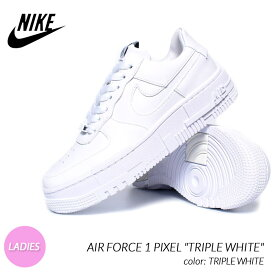 "NIKE AIR FORCE 1 PIXEL ""TRIPLE WHITE"" ナイキ エアフォース ピクセル スニーカー ( 白 ホワイト レディース ウィメンズ CK6649-100 )"
