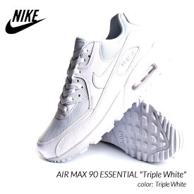 "NIKE AIR MAX 90 ESSENTIAL ""Triple White"" ナイキ エアマックス 90 エッセンシャル スニーカー ( 白 ホワイト メンズ レディース 537384-111 )"