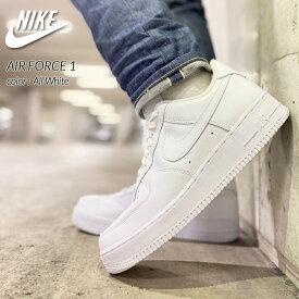 "NIKE AIR FORCE 1 ""All White"" ナイキ エアフォース 1 ロー スニーカー ( 白 ホワイト メンズ 315122-111 )"