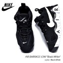 """NIKE AIR BARRAGE LOW """"Black White"""" ナイキ バラージ ロー スニーカー ( 黒 白 ブラック ホワイト メンズ CD7510-001 )"""