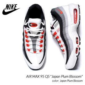 "NIKE AIR MAX 95 QS ""Japan Plum Blossom"" ナイキ エアマックス スニーカー ( 白 ホワイト レッド グレー メンズ レディース DH9792-100 )"
