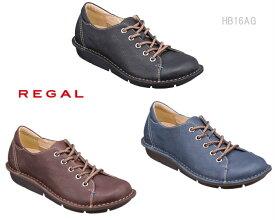 リーガル レディース ウォーカー REGAL Ladies Walker カジュアル スニーカー HB16AG 3E 4E ワイズ調節可能 靴 正規品
