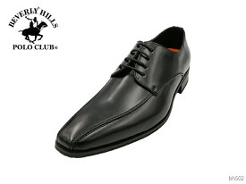 【5/15限定!ポイント17倍確定!3エントリーで】 BEVERLY HILLS POLO CLUB ビバリーヒルズポロクラブ BH502 メンズ ビジネスシューズ レースアップ 靴