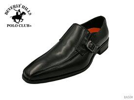 【5/15限定!ポイント17倍確定!3エントリーで】 BEVERLY HILLS POLO CLUB ビバリーヒルズポロクラブ BH504 メンズ ビジネスシューズ ベルト 靴