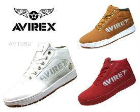 【10/25限定!WエントリーでP最大15倍!楽天カードで】 アヴィレックス AVIREX AV1262 THUNDER STORM ブーツスニーカー 靴 正規品