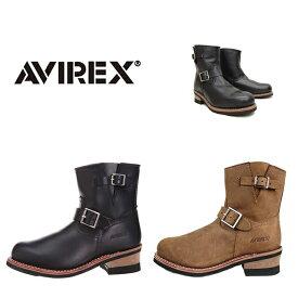 アビレックス AV2225 ホーネット ショート エンジニアブーツ 靴 メンズ