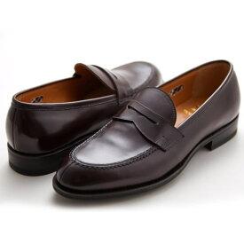 NEWYORKER ニューヨーカー NY316 メンズ フォーマル ボルドー ローファー ビジネスシューズ NEWYORKER FOOTWEAR 紳士靴