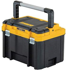 デウォルト(DeWALT) オーガナイザーつきラージボックス ティースタック DWST17814 ハンドル付き大容量収納 本体: 奥行33.3cm 本体: 高さ30.2cm 本体: 幅44cm