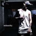 【minority】Solid Long Tanktop タンクトップ メンズ ロック タンクトップ V系 ファッション 夏 ヴィジュアル系 ファ…