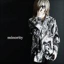【minority】Paisley SHIRT モード系 メンズ シャツ モノトーンシャツ メンズ ペイズリー柄 シャツ V系 メンズ ロック…
