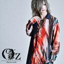 【Oz select】Ripple shirt モード系 メンズ シャツ ロングシャツ メンズ 派手な 服 個性的 シャツ 韓国ファッション …