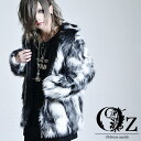 【Oz select】Fake fur jacket ファー ジャケット メンズ アウター 個性的 派手な 服 フェイクファー ジャケット モード系 メンズ アウター ストリート系 冬 アウター ボア