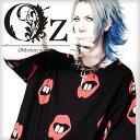 【Oz select】Lip pattern knit big TEE†ビッグT Tシャツ オーバーサイズ サマーニット 半袖 唇 クチビル リップ 総…