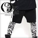【Oz select】Side line shorts†サイドライン パンツ ショーツ ハーフパンツ ショートパンツ ジャージパンツ V系 ファッション メンズ ヴィジュアル系 ビジュアル系 ロック