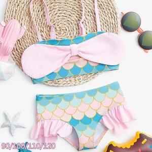 子供 水着 人魚 衣装 ベビー 水着 セパレート キッズ ビキニ 水着 子供 女の子 アリエル 衣装 人魚姫 水着 水着 ビキニ 水遊び コスプレ 衣装 子供服 アリエル 誕生日 プレゼント 90cm 100cm 110cm 1