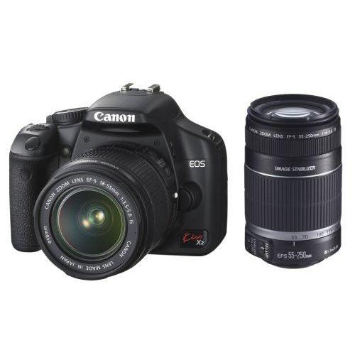 【中古】【1年保証】【美品】 Canon EOS Kiss X2 ダブルズームキット