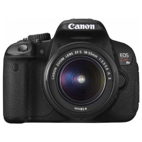 【中古】【1年保証】【美品】 Canon EOS Kiss X6i EF-S 18-55mm IS II 付属
