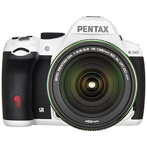 【中古】【1年保証】【美品】PENTAX K-50 DA 18-135mm WR ホワイト
