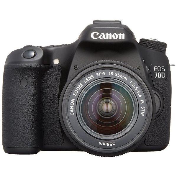 【中古】【1年保証】【美品】Canon EOS 70D レンズキット 18-55mm IS STM