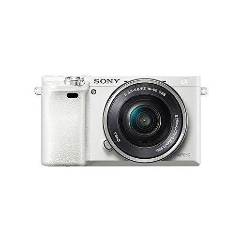 【中古】【1年保証】【美品】SONY α6000 パワーズームキット PZ 16-50mm OSS ホワイト ILCE-6000L