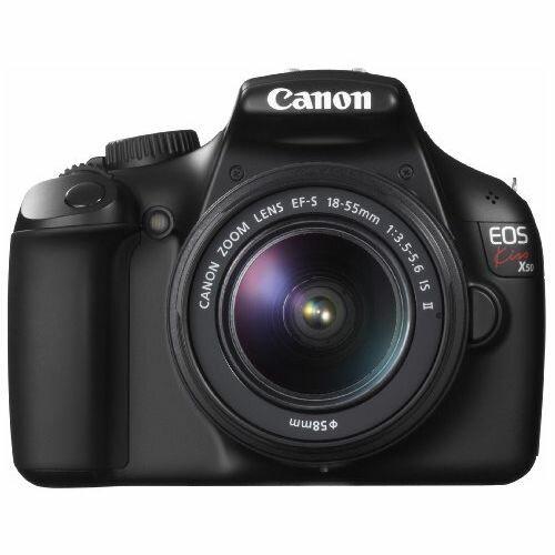 【中古】【1年保証】【美品】Canon EOS Kiss X50 18-55mm F3.5-5.6 IS II