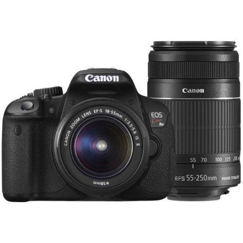 【中古】【1年保証】【美品】Canon EOS Kiss X6i ダブルズームキット