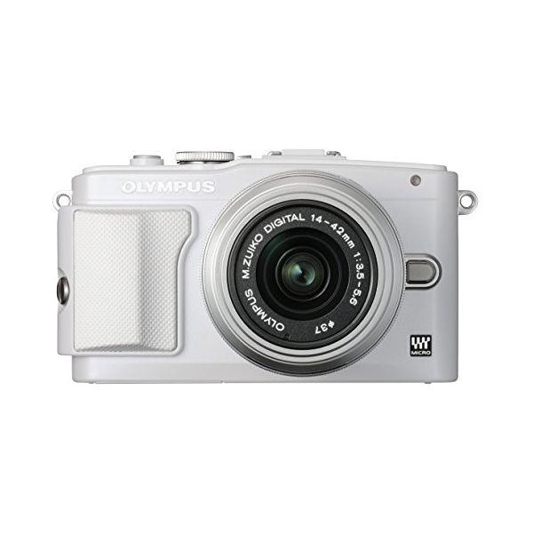 【中古】【1年保証】【美品】 OLYMPUS E-PL6 レンズキット ホワイト