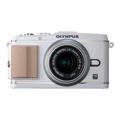 【中古】【1年保証】【美品】OLYMPUS E-P3 レンズキット ホワイト