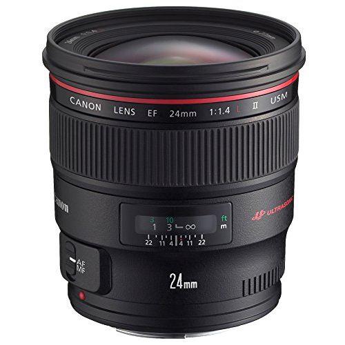【中古】【1年保証】【美品】 Canon 単焦点広角 EF24mm F1.4L II USM