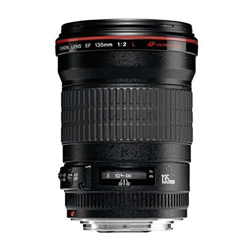 【中古】【1年保証】【美品】 Canon 単焦点望遠レンズ EF 135mm F2L USM
