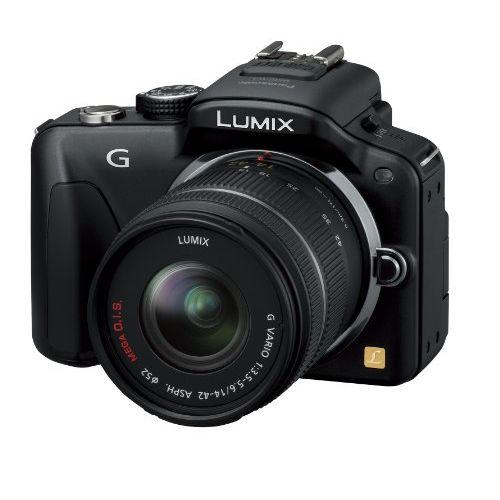 【中古】【1年保証】【良品】Panasonic LUMIX G3 レンズキット ブラック
