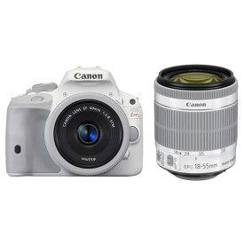 【中古】【1年保証】【美品】Canon EOS Kiss X7 ダブルレンズキット II ホワイト