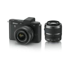 【中古】【1年保証】【美品】Nikon V1 ダブルレンズキット ブラック