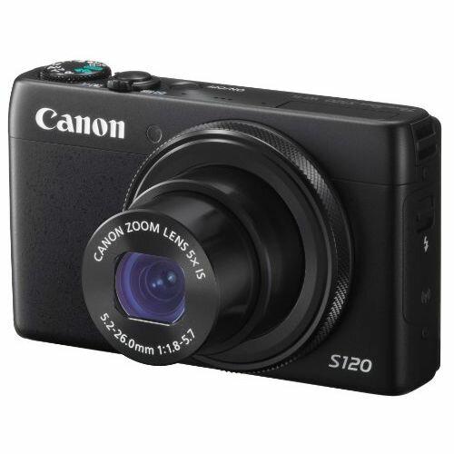 【中古】【1年保証】【美品】 Canon デジカメ PowerShot S120 ブラック