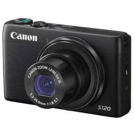【中古】【1年保証】【美品】Canon PowerShot S120 ブラック