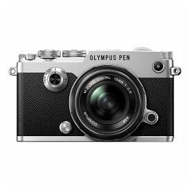 【中古】【1年保証】【美品】OLYMPUS PEN-F 12mm F2.0 レンズキット シルバー