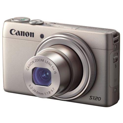 【中古】【1年保証】【美品】 Canon デジカメ PowerShot S120 シルバー