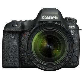 【中古】【1年保証】【美品】Canon EOS 6D Mark II EF 24-70mm F4L IS USM レンズキット