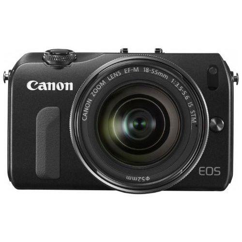 【中古】【1年保証】【美品】 Canon EOS M EF-M 18-55mm F3.5-5.6 IS STM