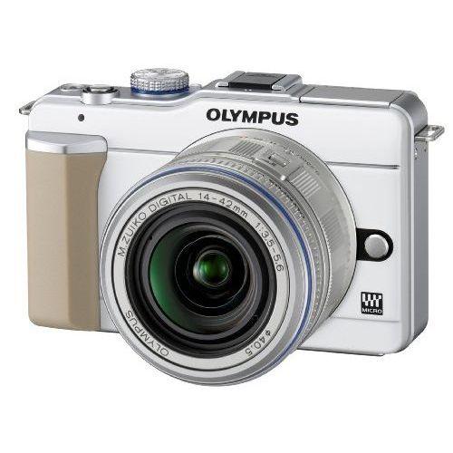 【中古】【1年保証】【美品】 OLYMPUS PEN E-PL1 レンズキット ホワイト