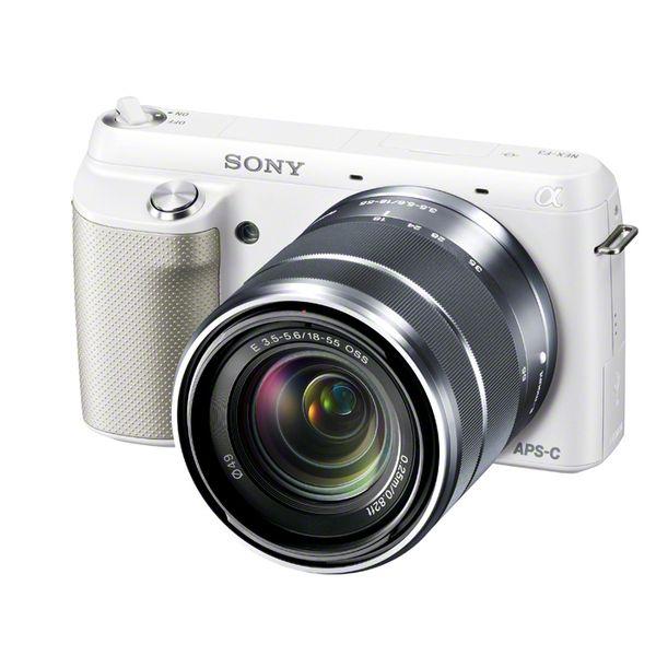 【中古】【1年保証】【美品】SONY NEX-F3 レンズキット ホワイト