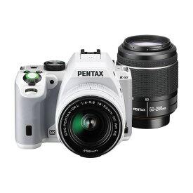 【中古】【1年保証】【美品】PENTAX K-S2 ダブルズームキット ホワイト