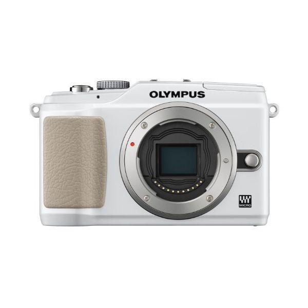 【中古】【1年保証】【美品】OLYMPUS E-PL2 ボディ ホワイト