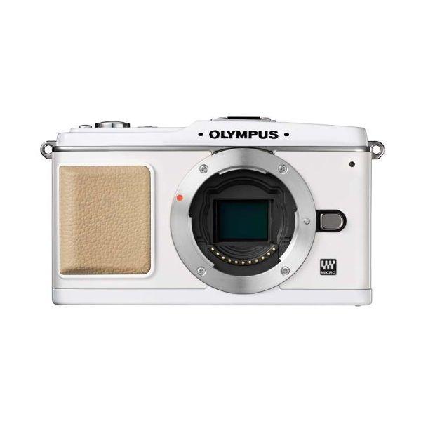【中古】【1年保証】【良品】OLYMPUS E-P1 ボディ ホワイト