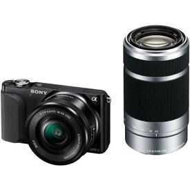 【中古】【1年保証】【美品】SONY NEX-3N ダブルズームキット 16-50mm + 55-210mm ブラック