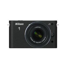 【中古】【1年保証】【美品】Nikon J1 標準ズームレンズキット ブラック