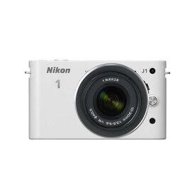 【中古】【1年保証】【美品】Nikon J1 標準ズームレンズキット ホワイト