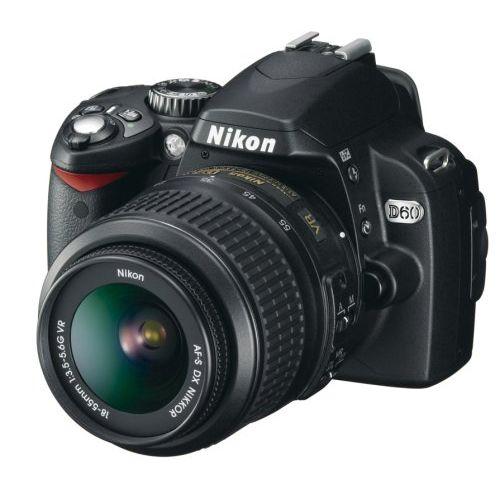 【中古】【1年保証】【美品】 Nikon D60 レンズキット