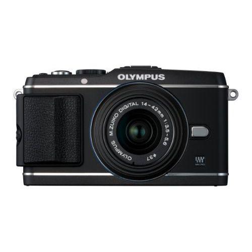 【中古】【1年保証】【美品】OLYMPUS E-P3 レンズキット ブラック