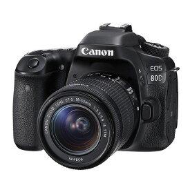 【中古】【1年保証】【美品】Canon EOS 80D EF-S 18-55mm IS STM